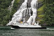 Ferry in Geiranger