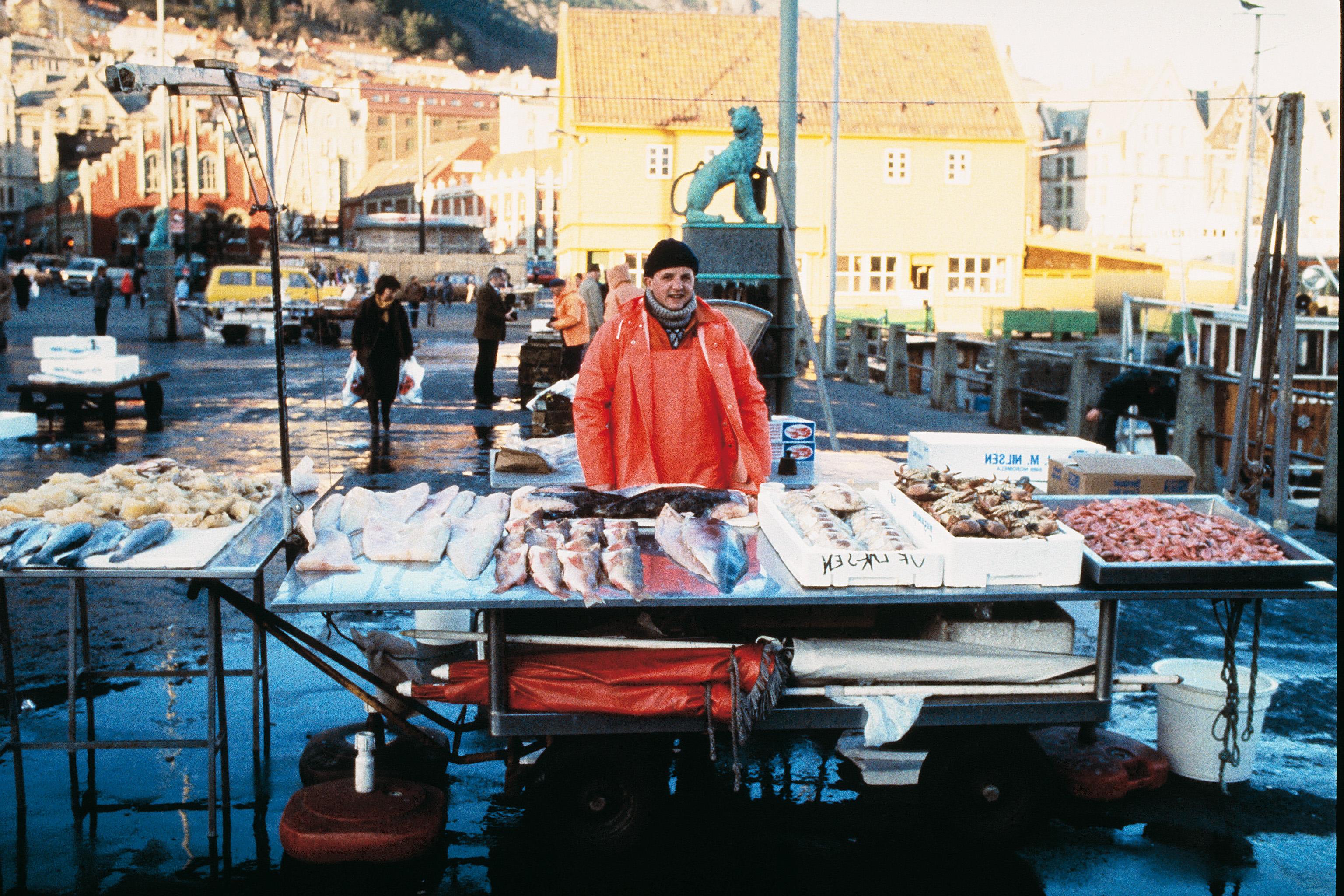 Fisketorget i b igruten nsa norwegian fjord travel