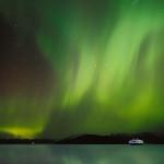 Hurtigruten i Nordlys